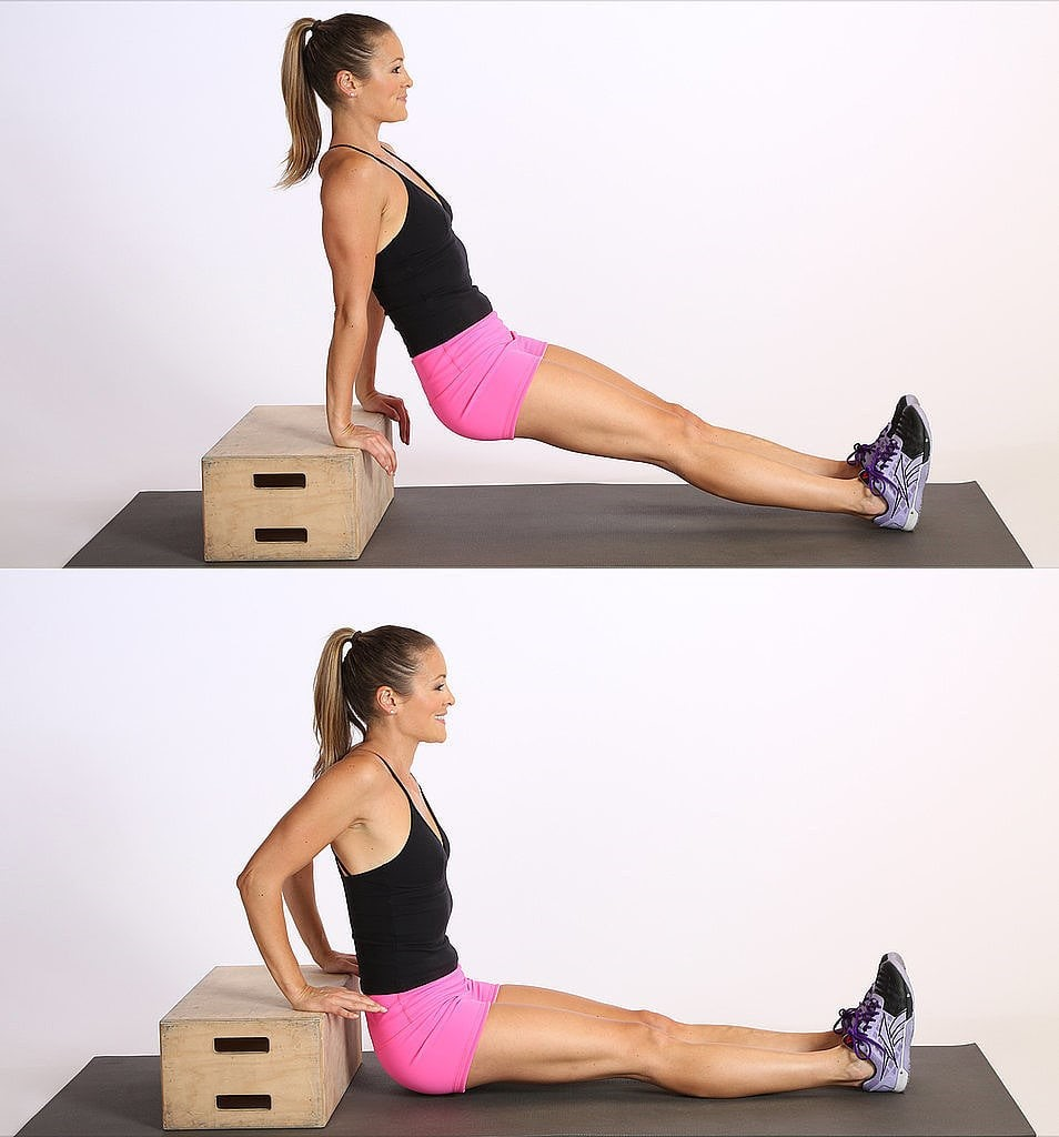 How to Do Triceps Dips   POPSUGAR Fitness