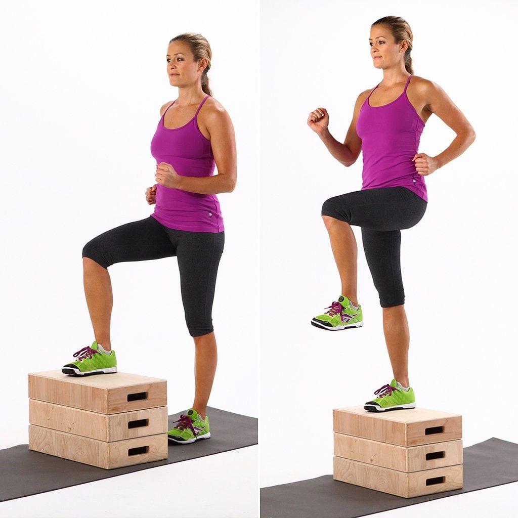 How to Do Step-Ups   POPSUGAR Fitness